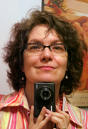 self-portrait photo of Claudia Carlson