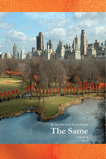 cover of the journal The Same, edited by Martin Mitchell