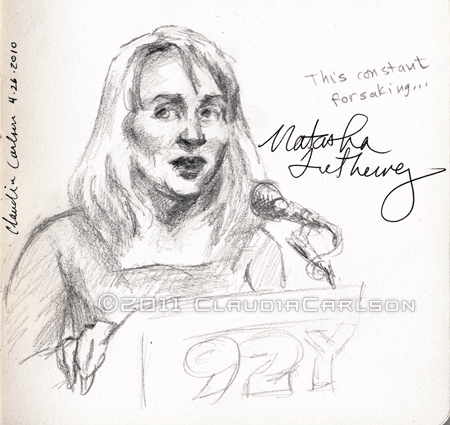 Natasha Tretheway reading at 92nd St. Y, 3-26-2010.